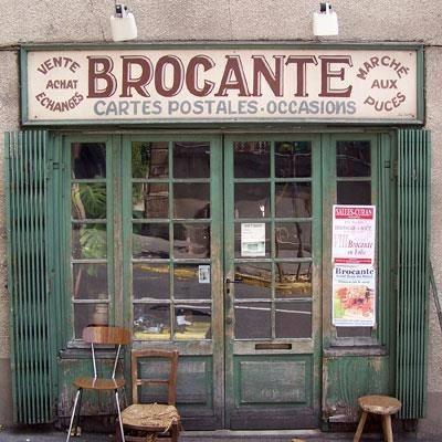 Brocantemarkt in Franse sferen