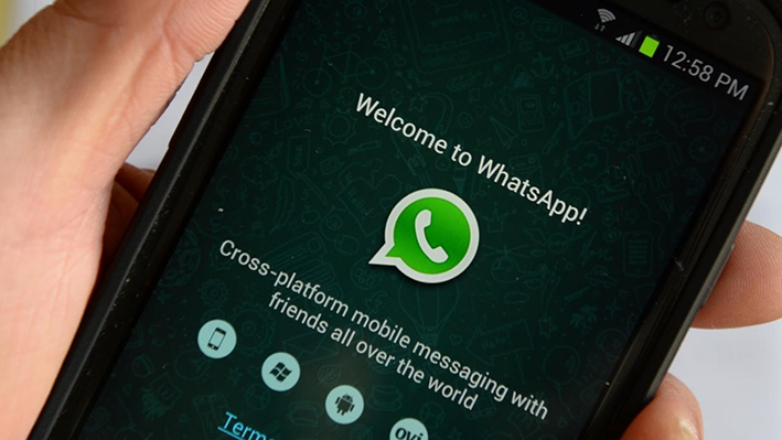 Vang de Boef met WhatsApp