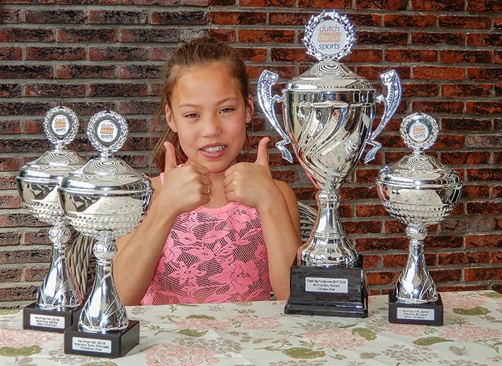 Kalista drievoudig Nederlands kampioen