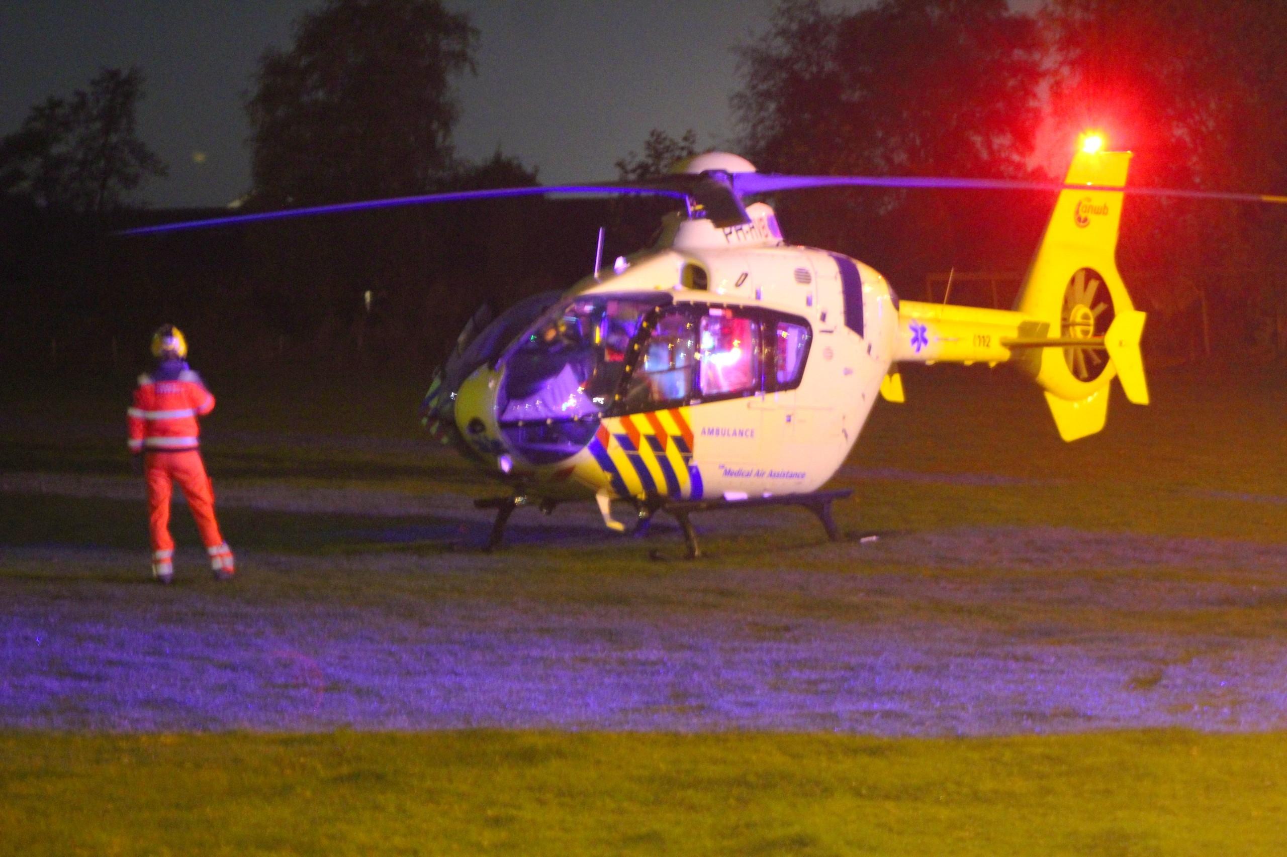 Toerist ernstig gewond na ongeval in Deventer