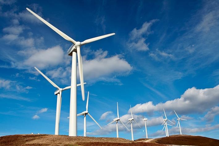 Zeven plekken voor windmolens