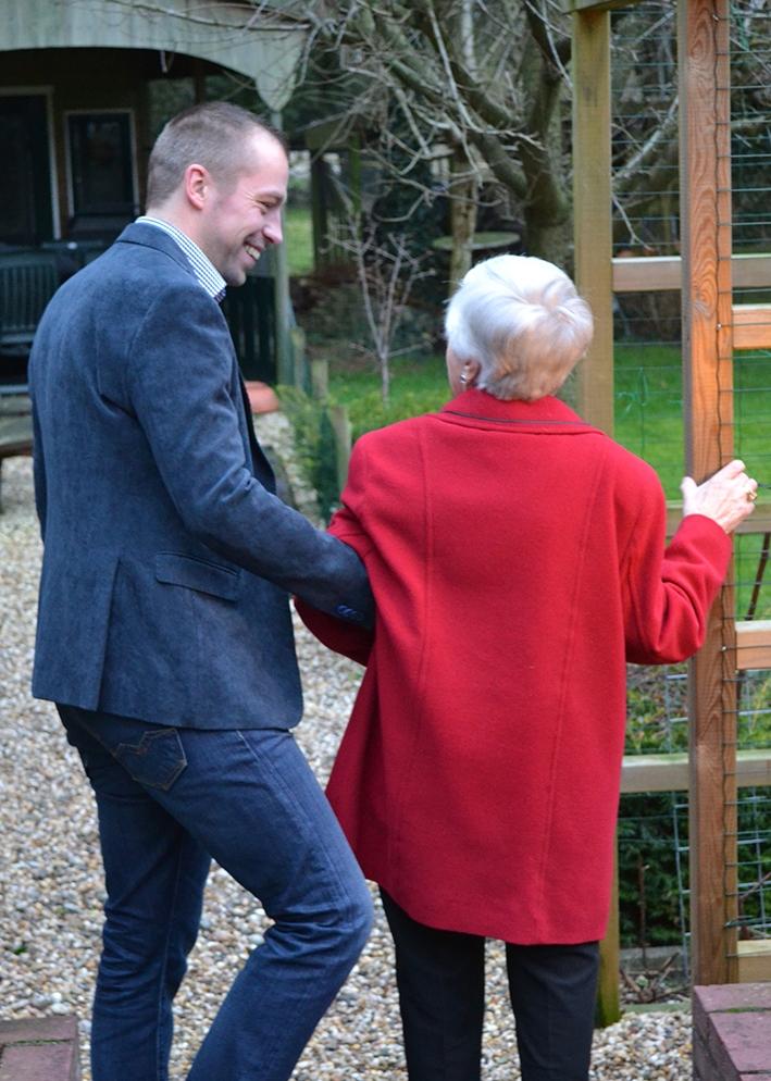 Huishoudelijke hulp voorzelfstandig wonende senioren