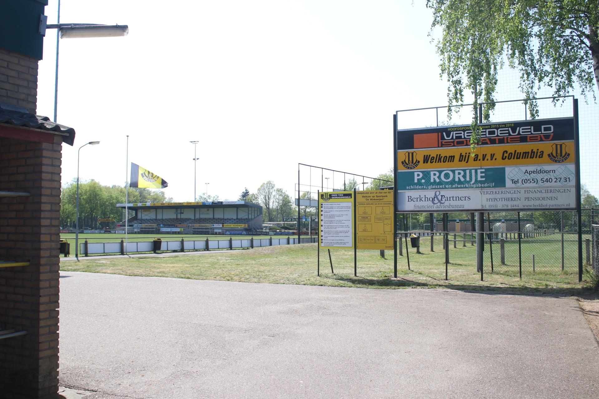 Verslagenheid bij voetbalvereniging Columbia, na verlies van twee spelers