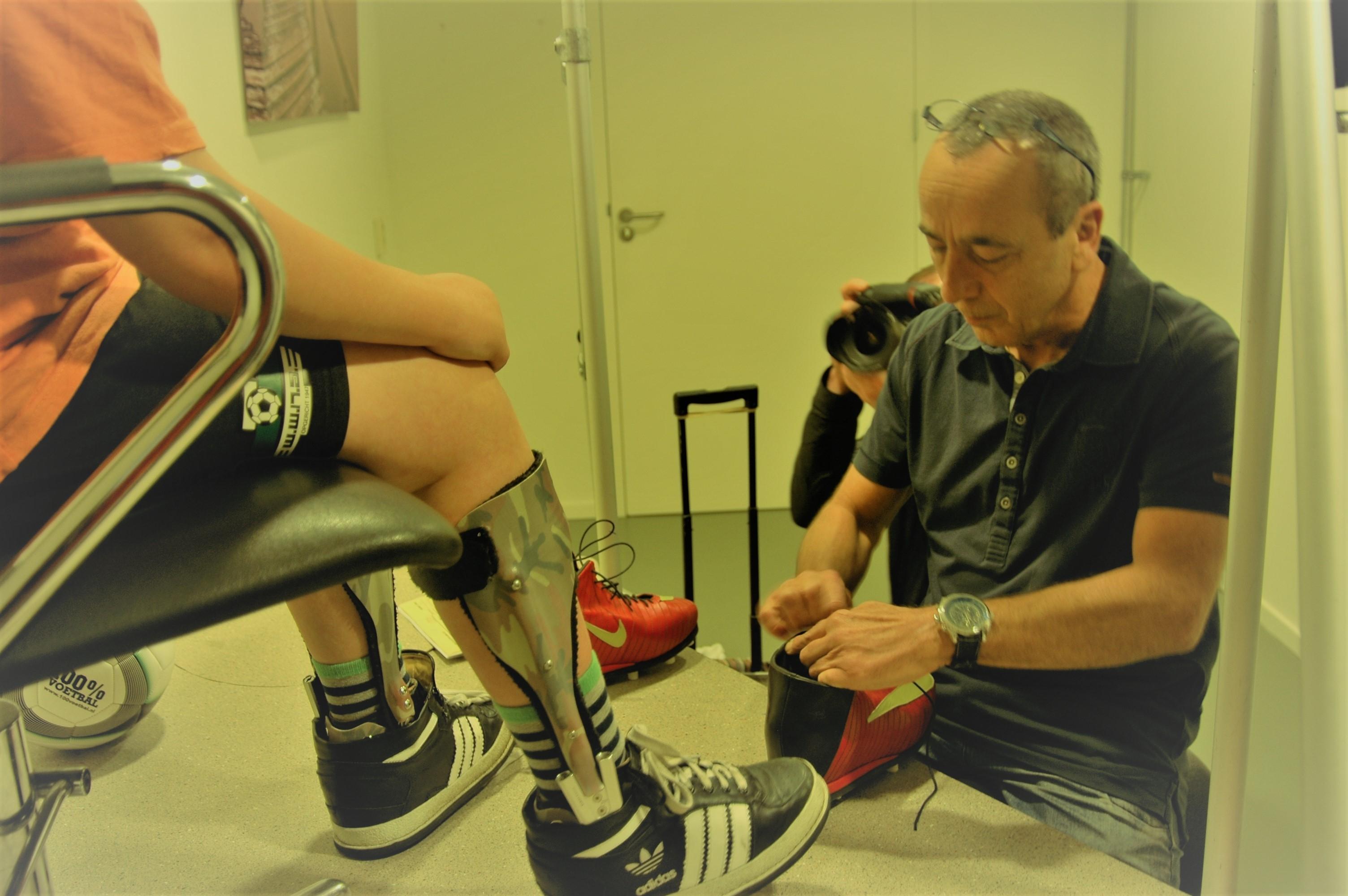 Jeffrey kan zijn nieuwe 'Messi' schoenen zaterdag al uitproberen