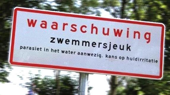 Waarschuwing zwemmersjeuk ingetrokken