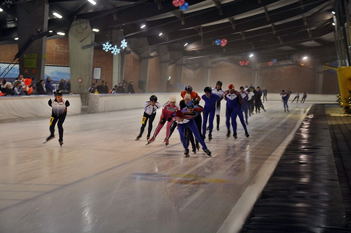 Laagdrempelige schaatsmarathonsvoor toerrijders en recreanten