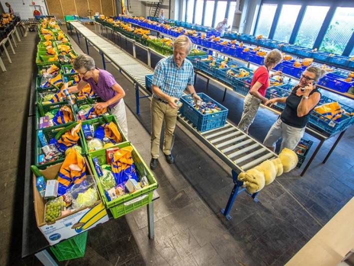 Structurele samenwerking Aldinen Voedselbanken Nederland