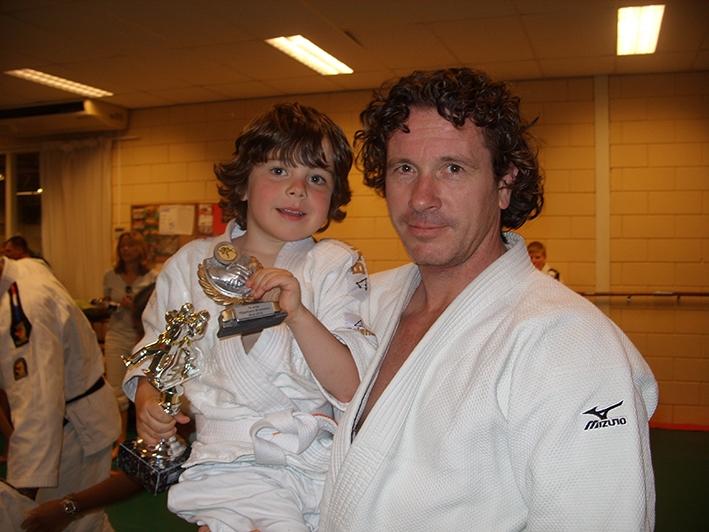 'Elke dag judo is als elke dag eten'
