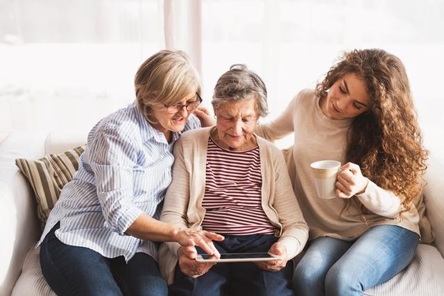 Tabletlessen voor senioren
