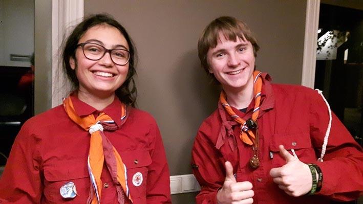 Scouts kijken reikhalzend uit naar World Jamboree
