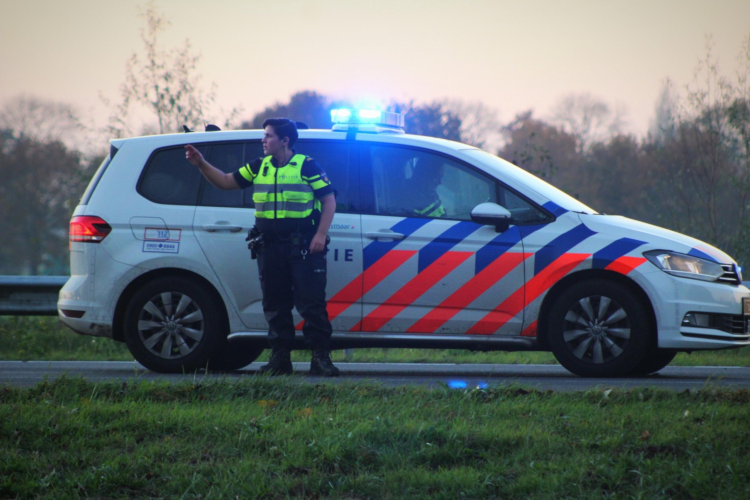 File door ongeval op de A1 naar Deventer