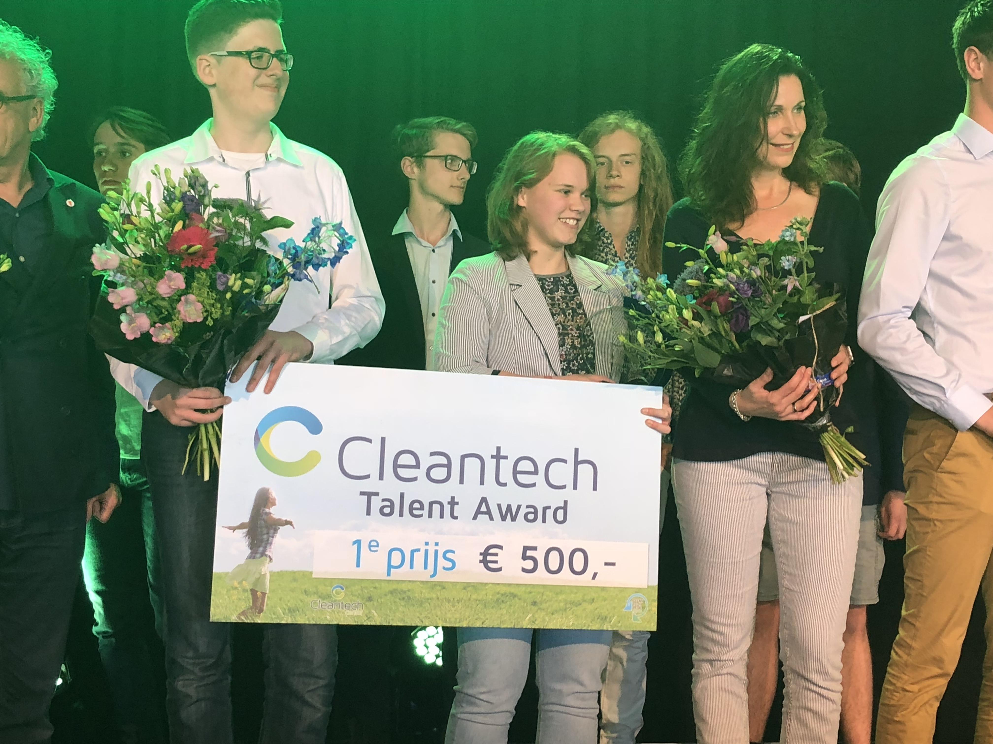 Het Stedelijk wint Cleantech Talent Award 2018