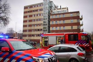 Man in levensgevaar door reddingspoging bij brand