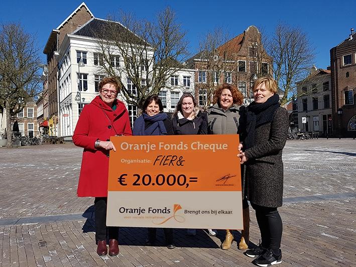 20.000 Euro aan activiteiten voor mensen met én zonder dementie