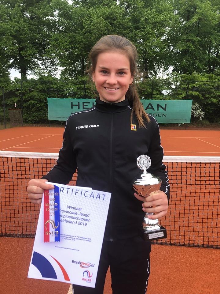 Apeldoornse Rose Marie Nijkamp Gelderse Kampioen t/m 14 jaar
