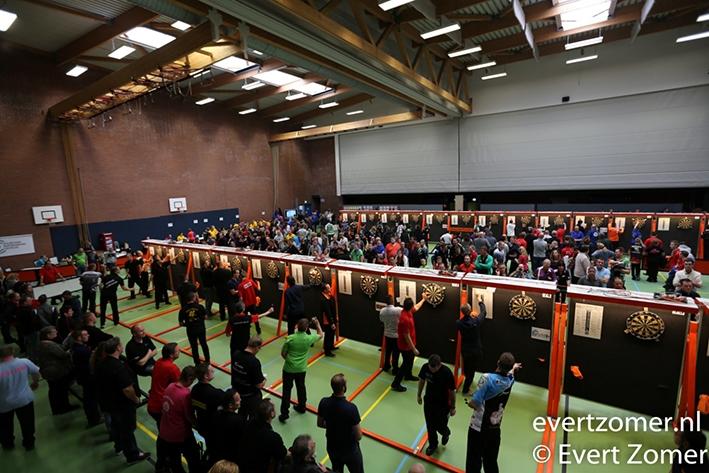 Tweede editie Open Stedendriehoek dartstoernooi