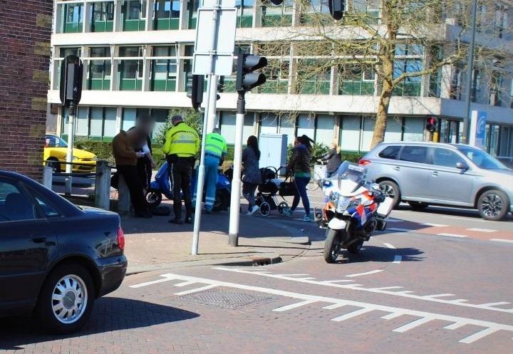 Scooterrijder licht gewond