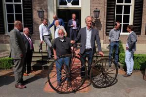 Fiets Koning Willem III in Museum De Waag