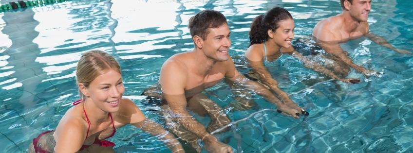 Groot fitnessevenement in Aquacentrum Malkander