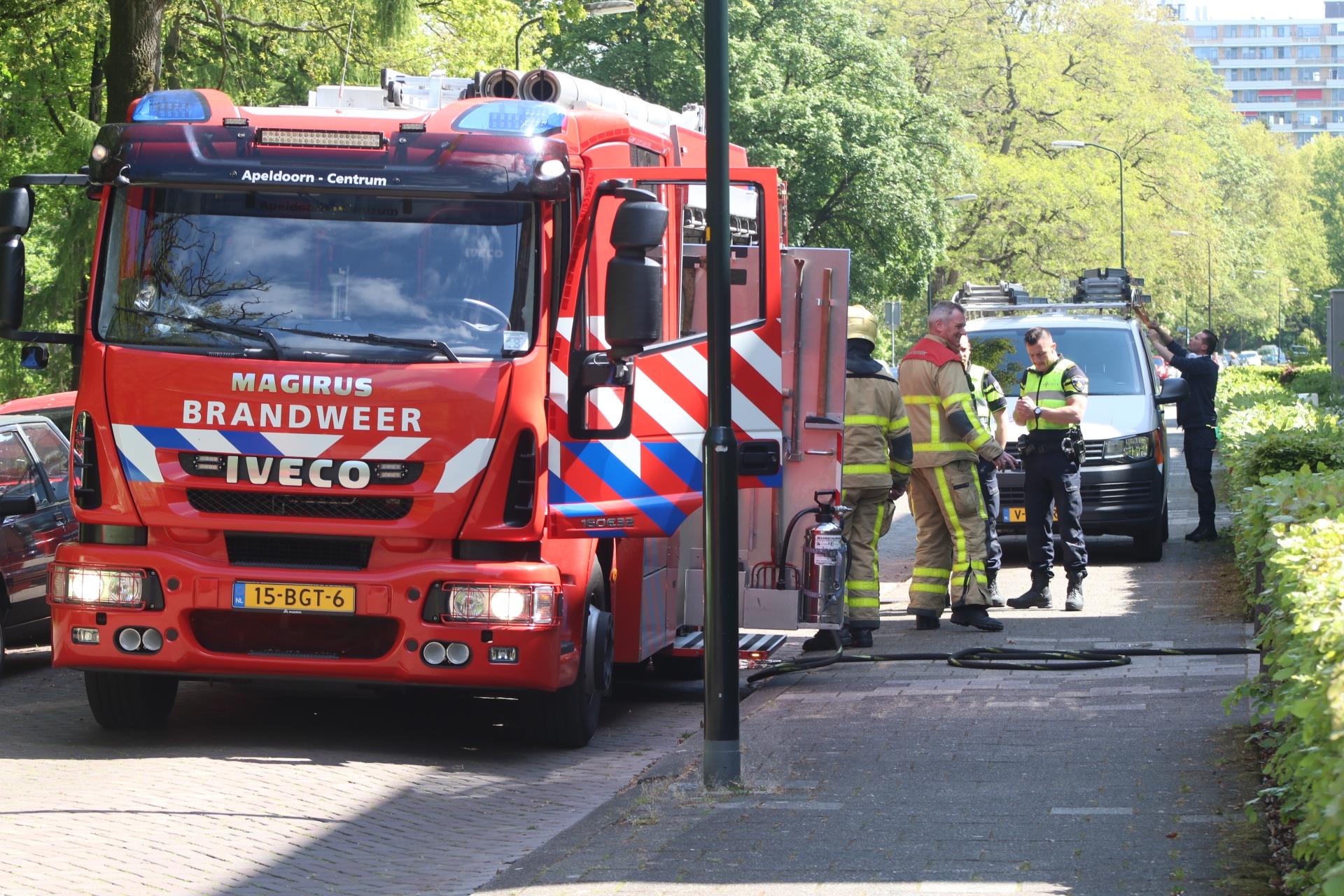 Woning onbewoonbaar na brand in Apeldoorn