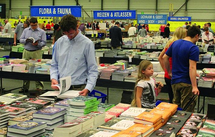 Vier dagen Boekenfestijn in Americahal