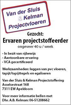 Vacature Van der Sluis & Kelman