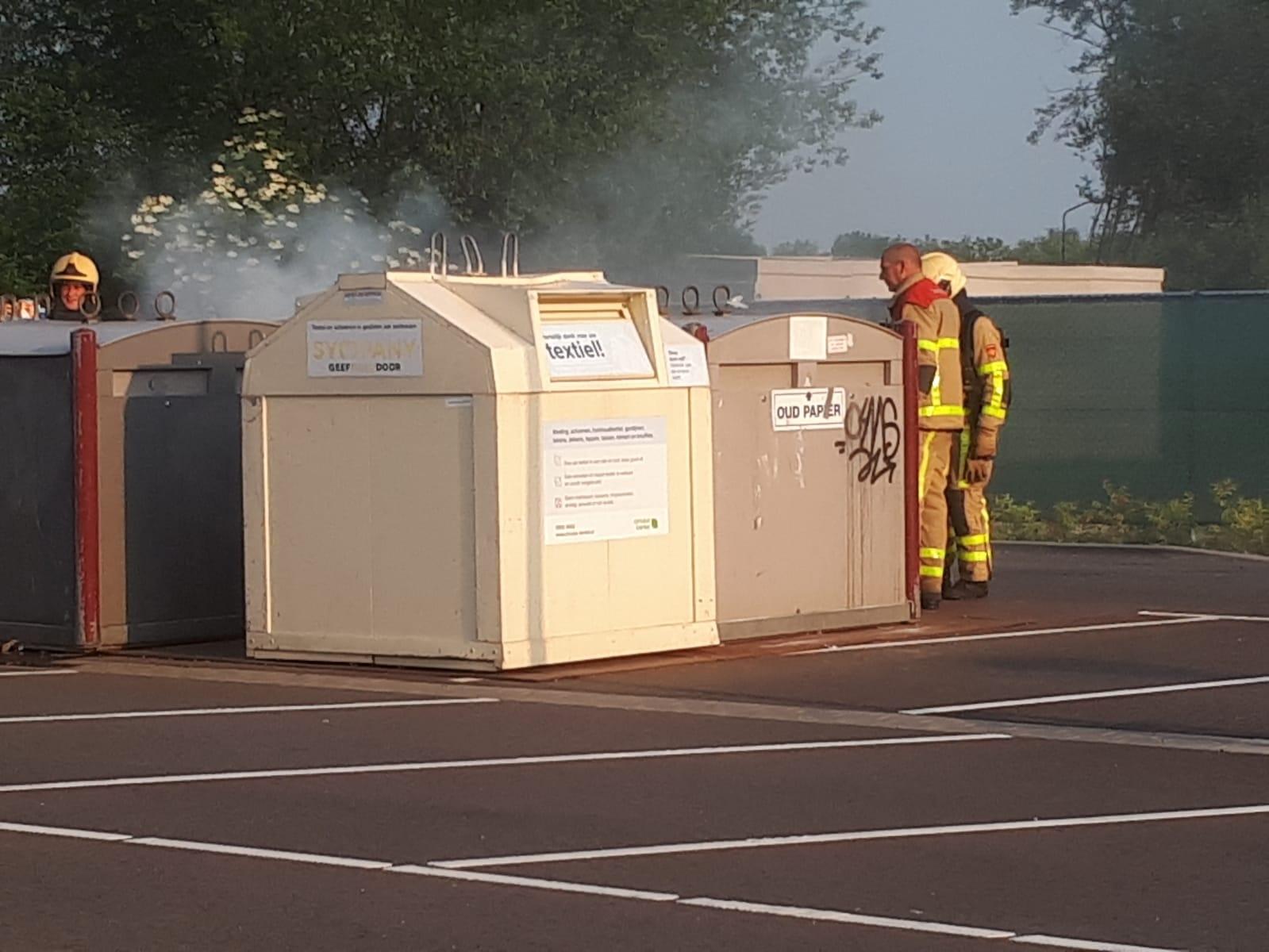 Twee containerbrandjes in één weekend