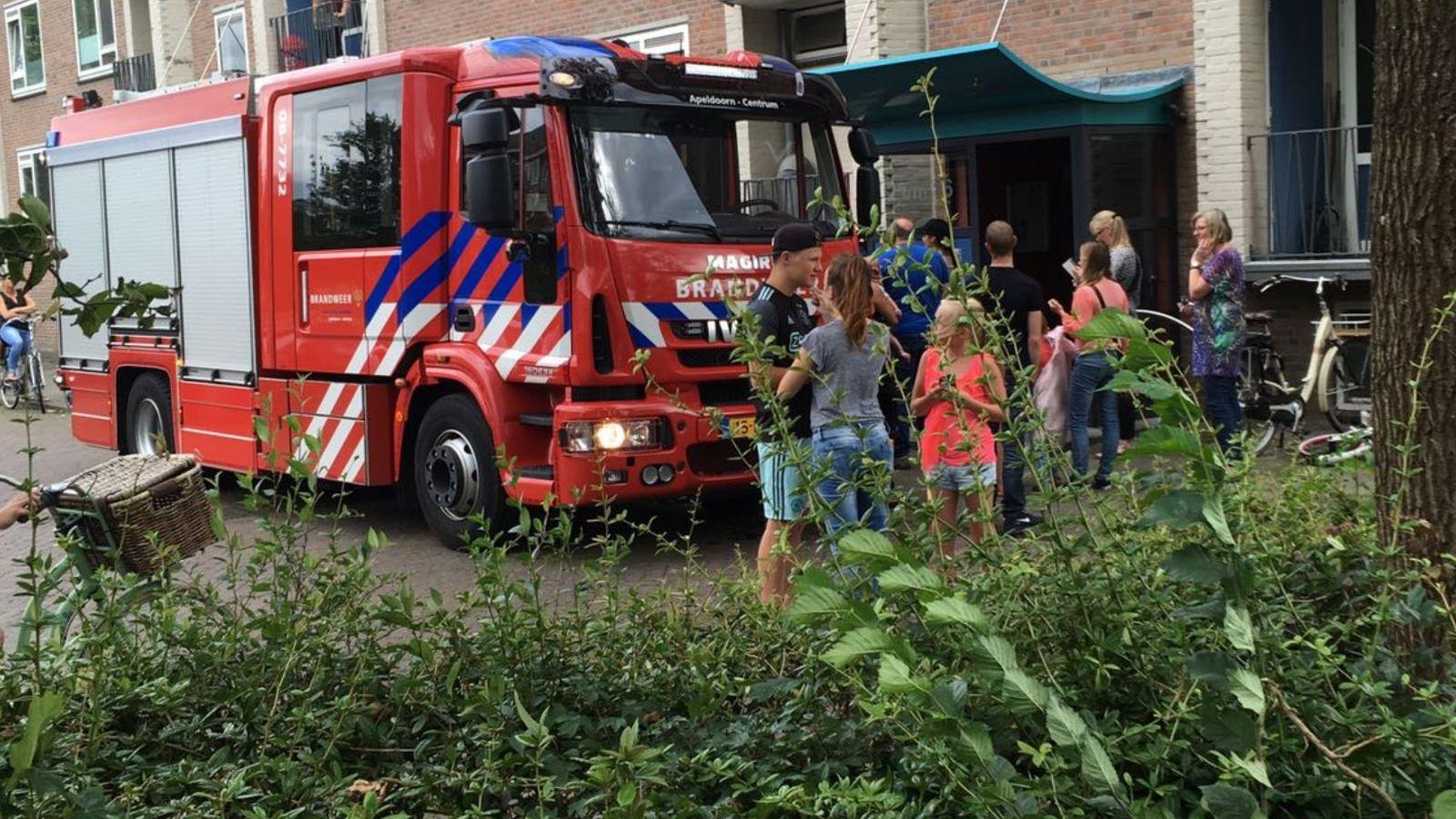 Brandweer opgeroepen voor een woningbrand