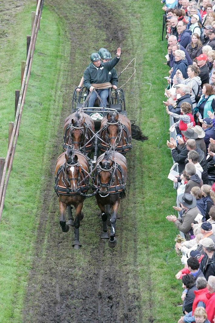 Hoogstaande paardensport in Beekbergen
