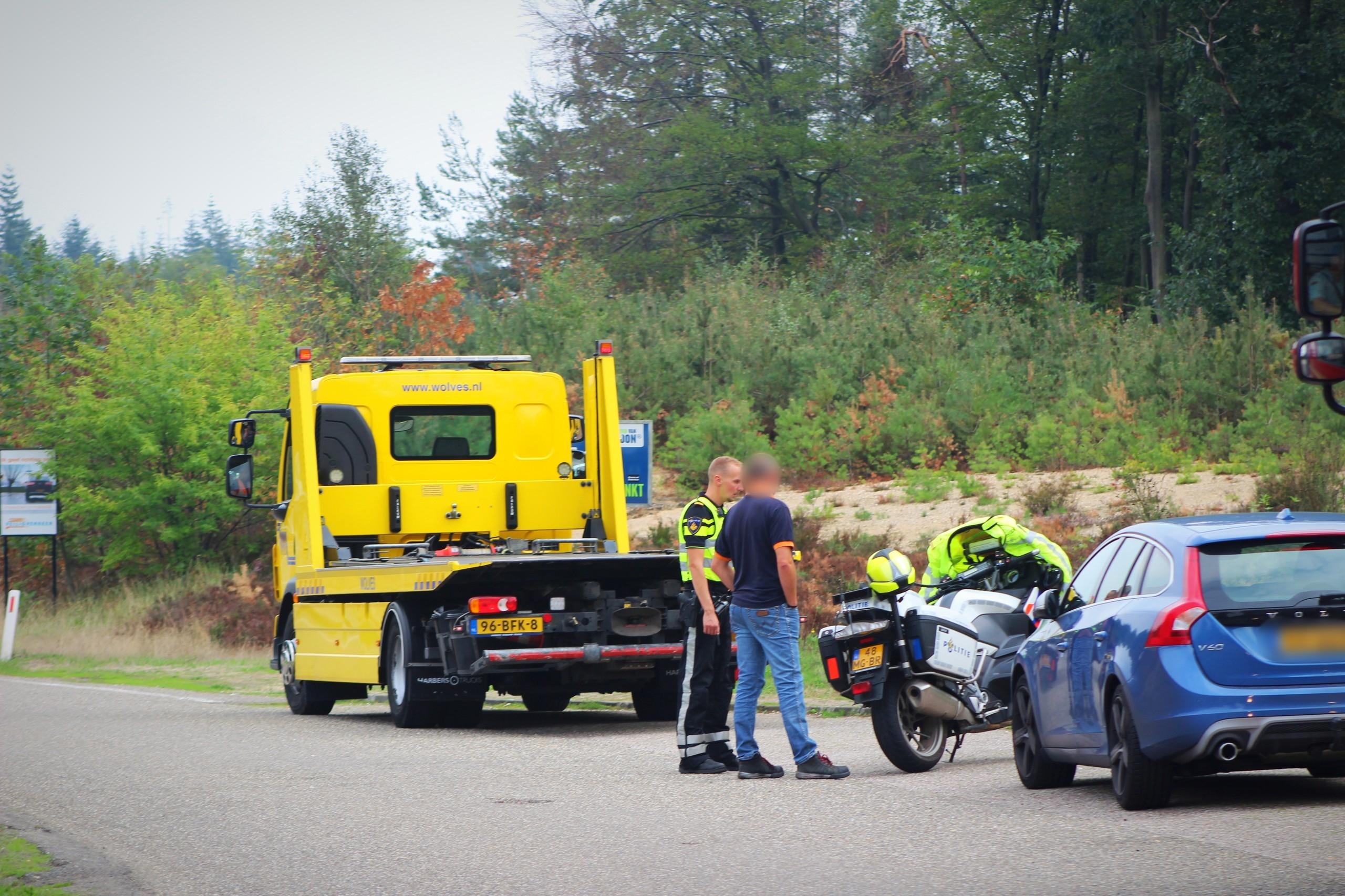 Auto onderzocht door politie