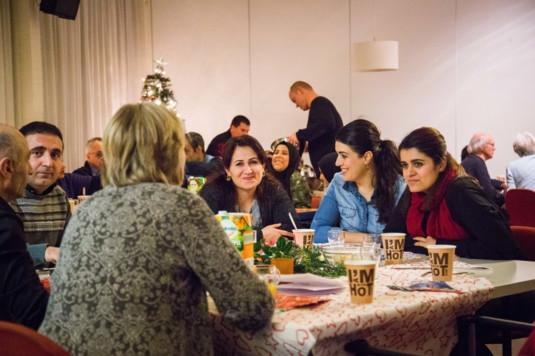 Kerken aan tafel met vluchtelingen