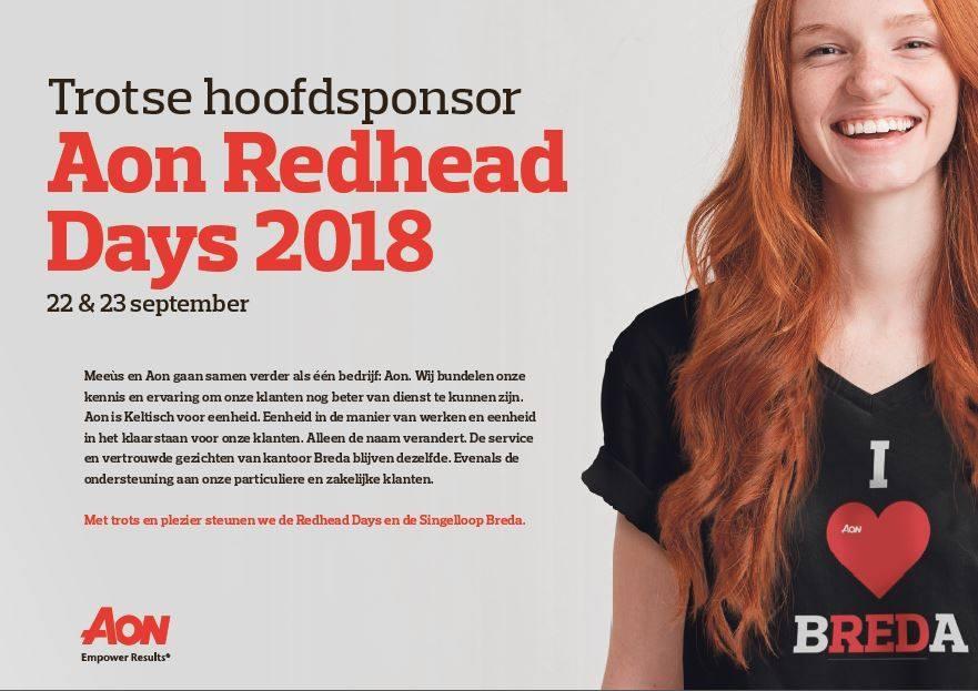 Breda kleurt dit weekend weer rood dankzij Aon