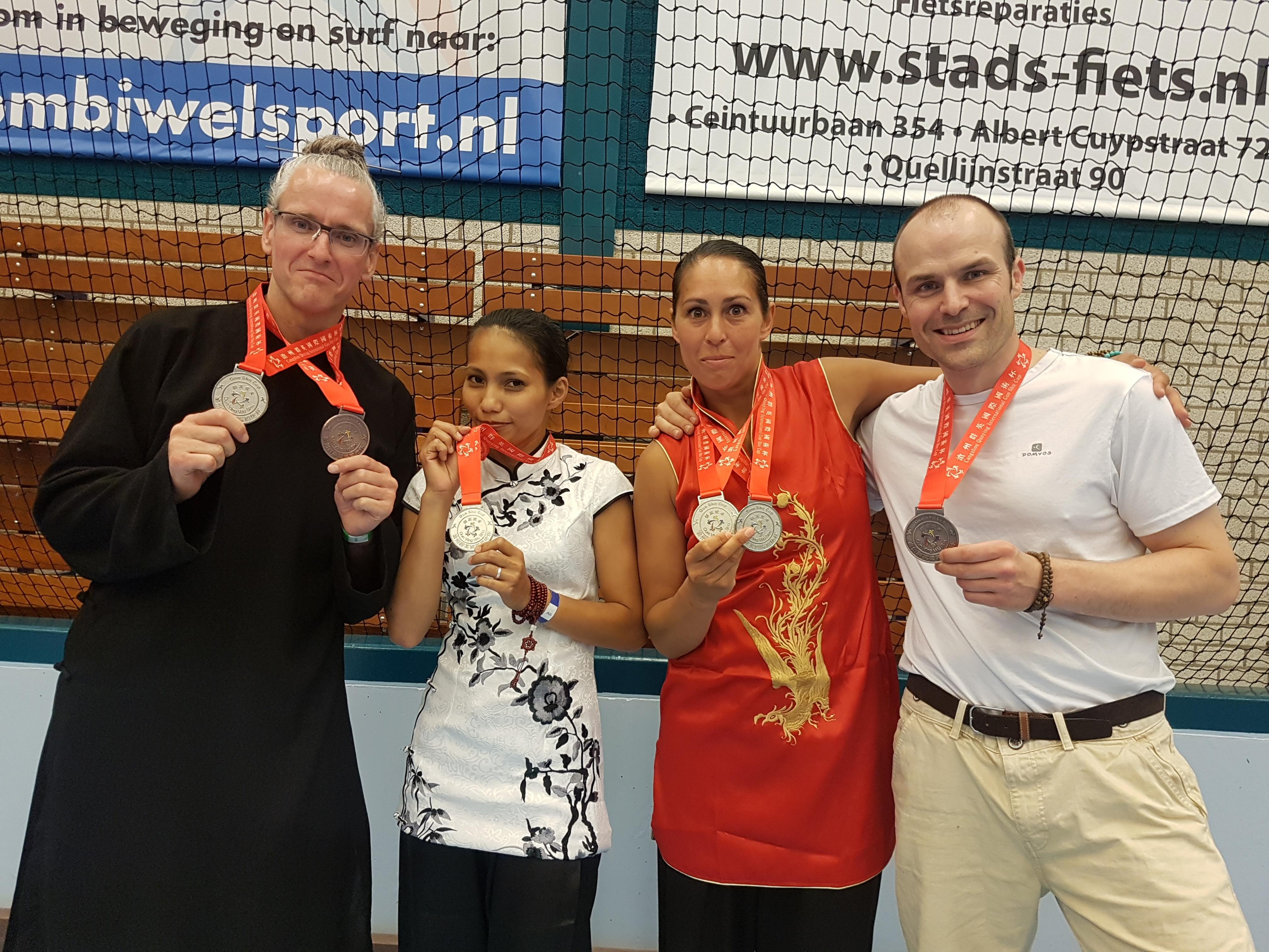 Apeldoorn wint 6 medailles in Amsterdam