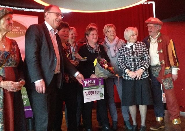Bathmens Contact Team wintnaanmoedigingsprijs SVOD