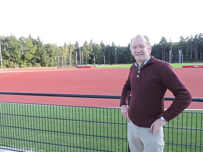 AV'34 is klaar vooropening nieuwe atletiekbaan