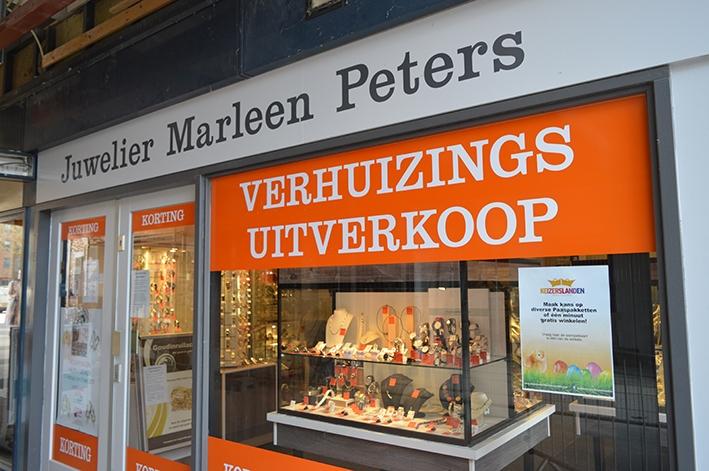 Tot en met 8 april kortingnbij Juwelier Marleen Peters