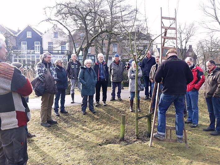 Aan de slag voor behoud boomgaarden