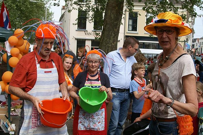 Gevarieerde Koningsdag Zutphen
