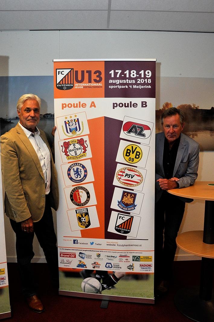 Jeugd topclubs naar Zutphen