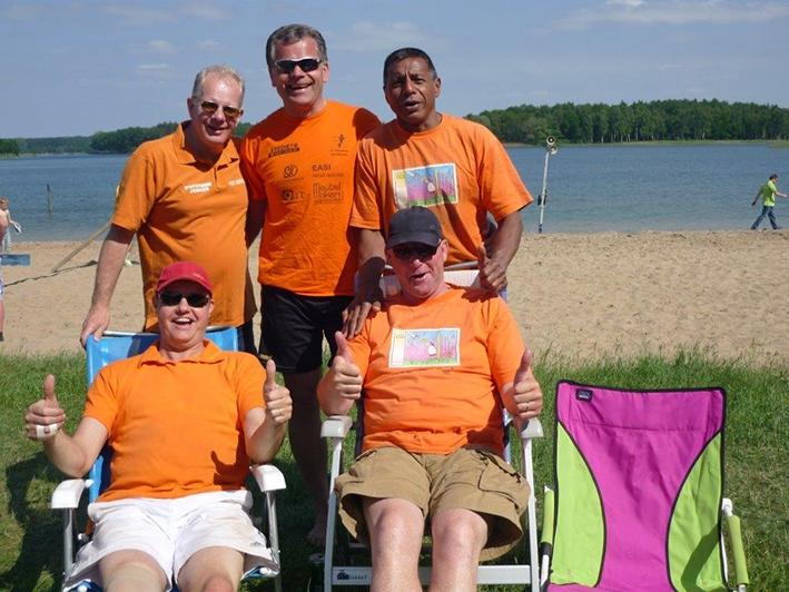 Beach Party Boys misten slechtsnéén editie beachvolleybaltoernooi