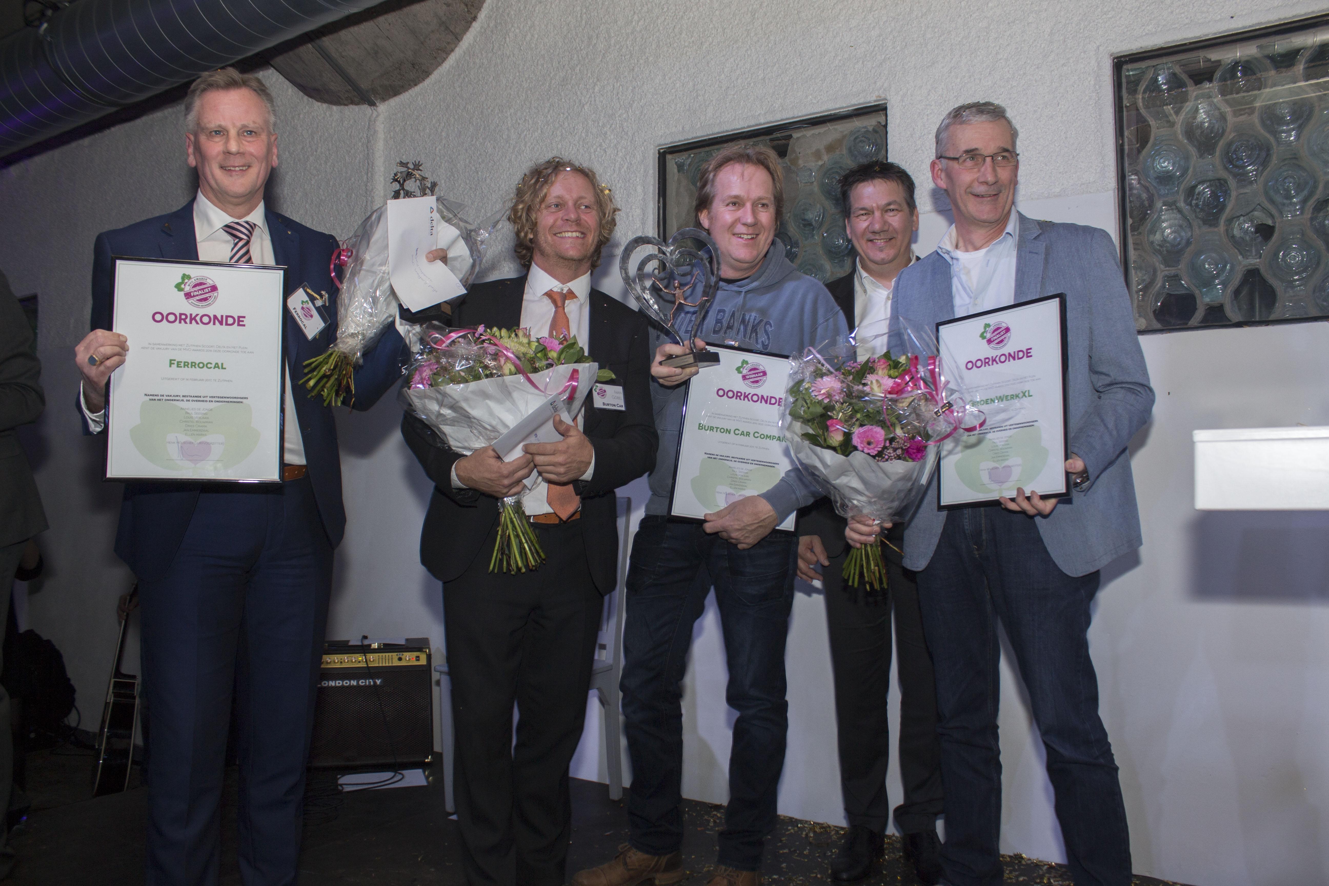 Winnaars MVO Awards bekend