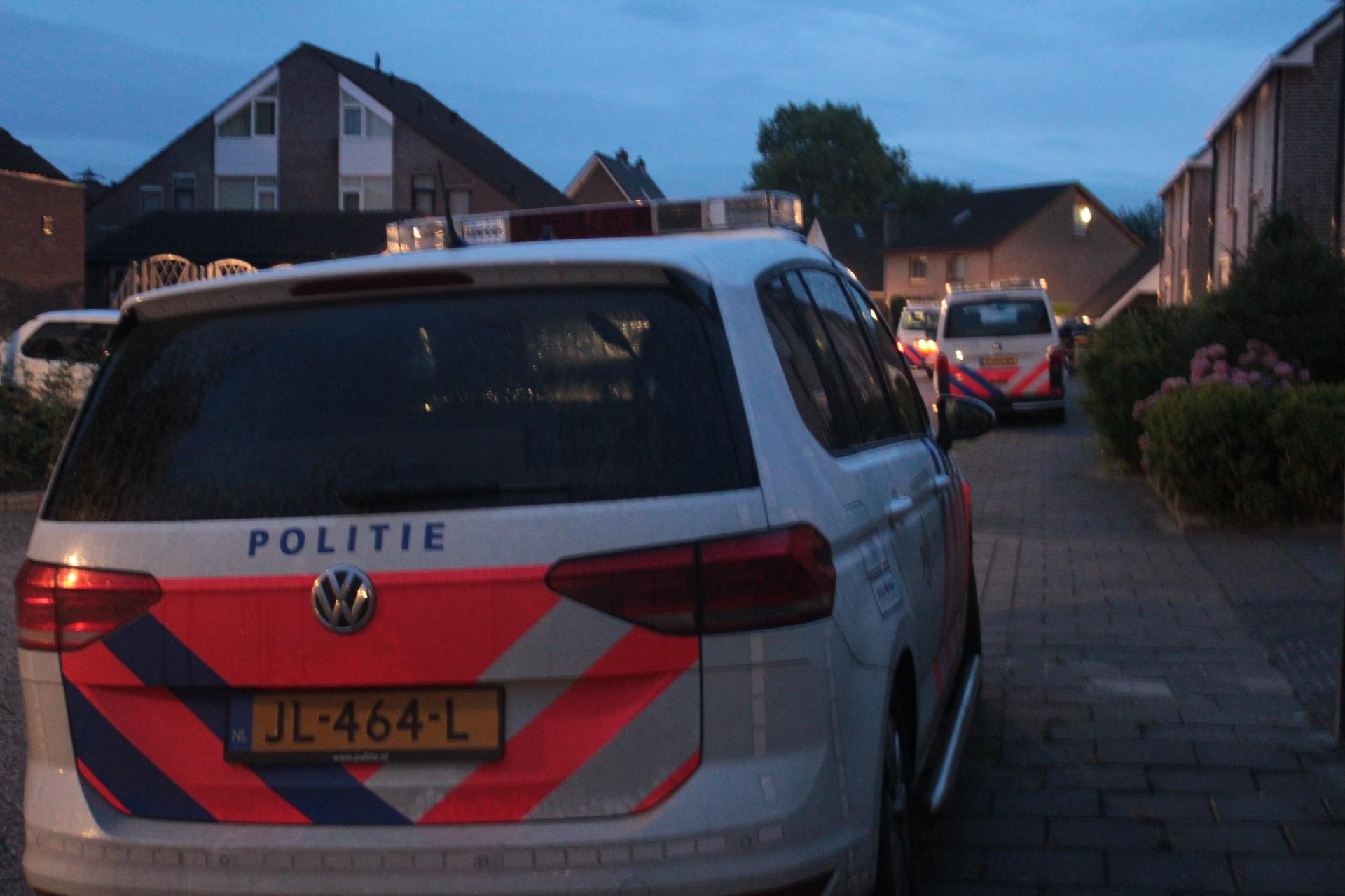 Politie achtervolging eindigt in een Crash