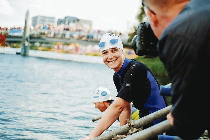 Oncologen zwemmen zondag mee