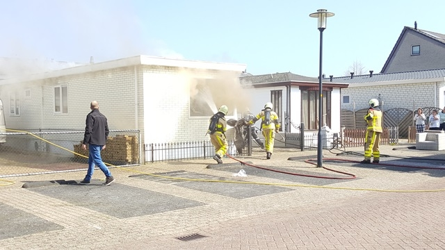 Woningbrand aan de Myrtillushof