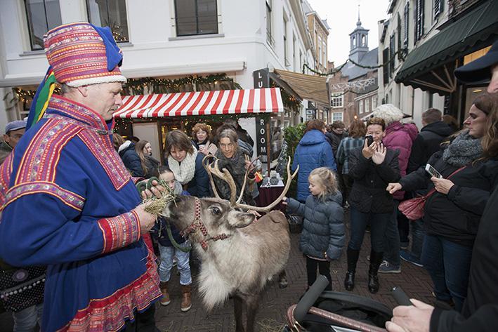 Winterspektakel in binnenstad Zutphen
