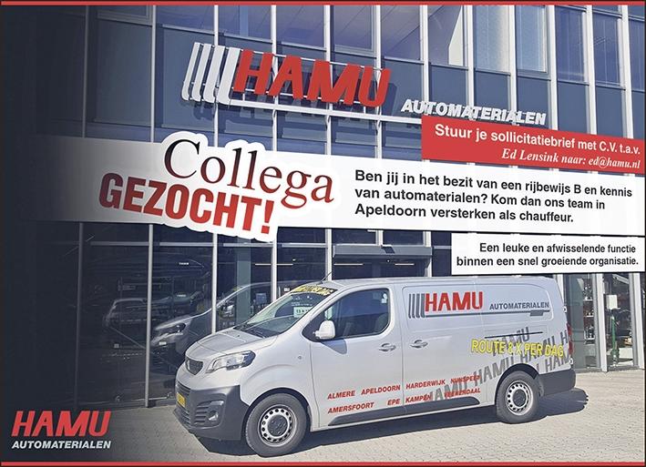 Hamu zoekt een collega
