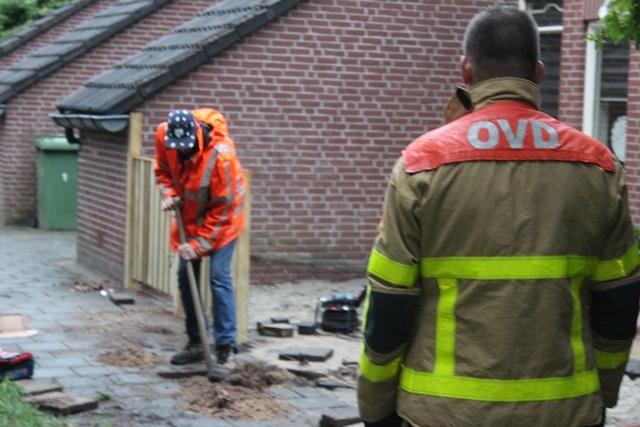 Brandweer opnieuw opgeroepen voor gaslek in wijk de Maten.