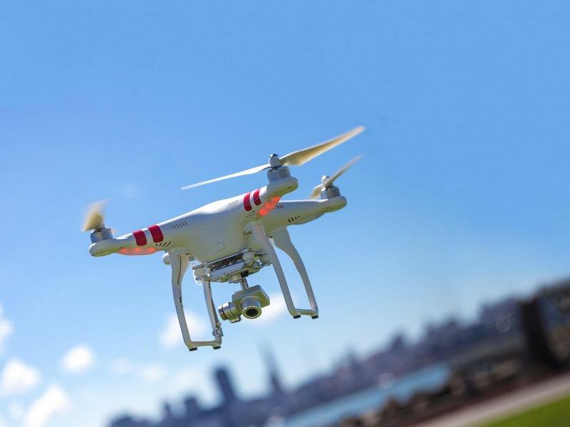 Drone kwijt!