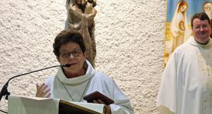 Riekje eerste vrouw met ereteken Lourdes