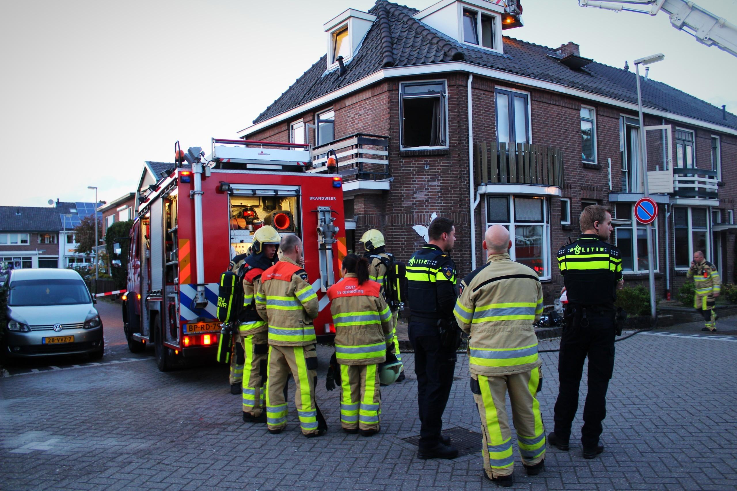 Woningbrand in Deventer